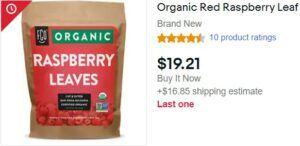 red Raspberry Tea On Ebay