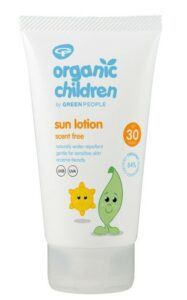 organic sunscreen for kids