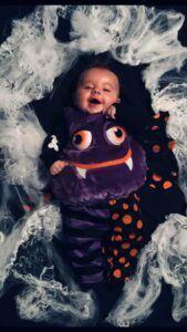halloween spider baby photo