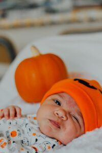 Halloween baby picture